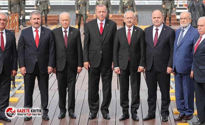 Siyasi liderler Samsun'da bir araya geldi; CHP'li Tanrıkulu fotoğraf karesindeki eksikliğe dikkat çekti