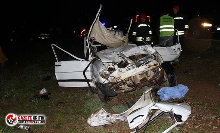 Sollamaktan vazgeçti yine kazaya neden oldu: 2 ölü,...