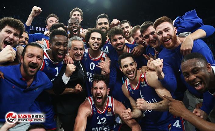Türk basketbolunda bir ilk; Anadolu Efes ve Fenerbahçe...
