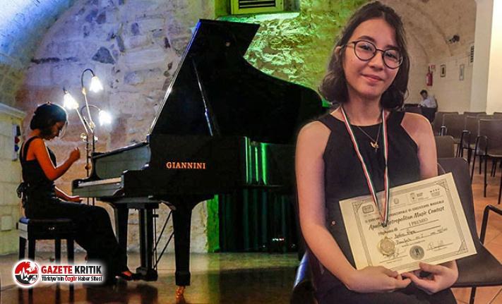 Türk öğrenci, İtalya'dan dünya birinciliği...