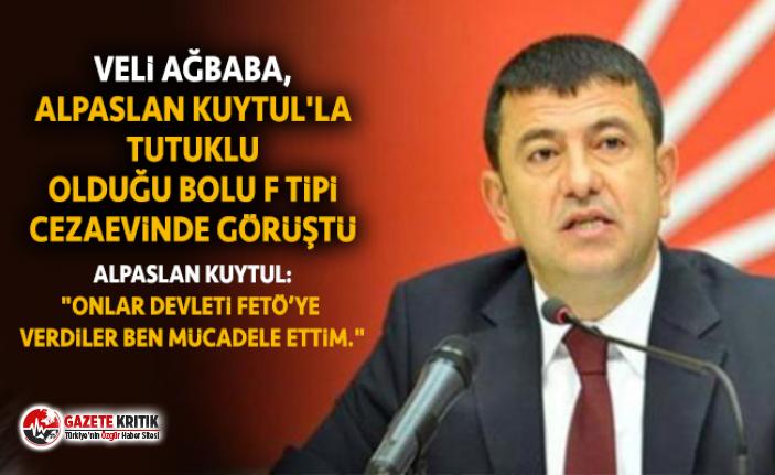 VELİ AĞBABA, ALPASLAN KUYTUL'LA TUTUKLU OLDUĞU...