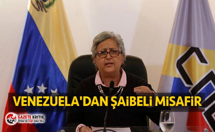 Venezuela'dan şaibeli misafir