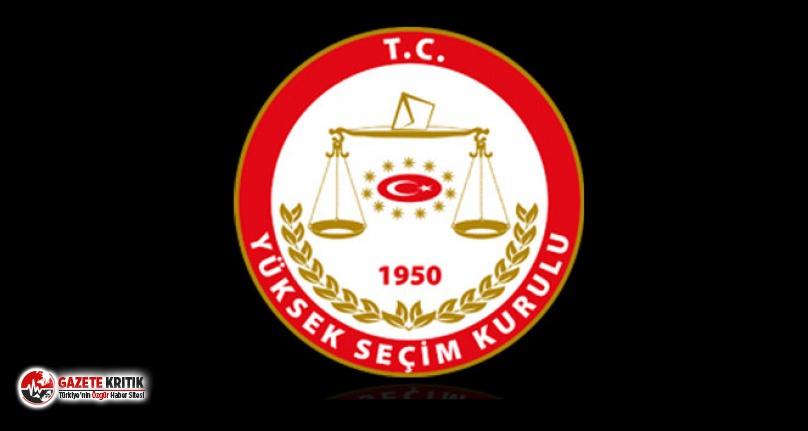 YSK, CHP ve İYİ Parti'nin İstanbul seçiminin...