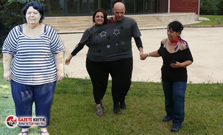 7 ayda 61 kilo verdi! İnanılmaz değişim