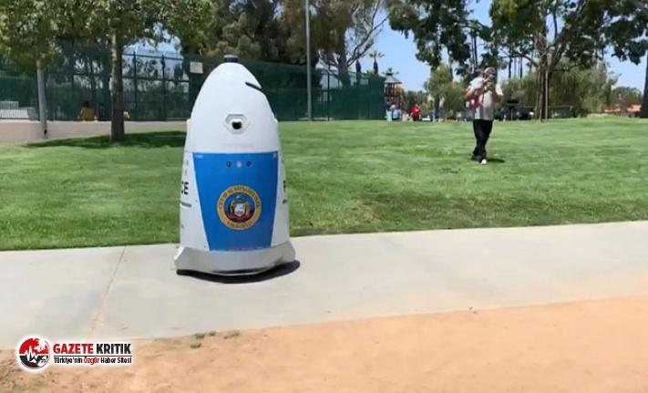 ABD'de robot polis ilk devriyesine çıktı