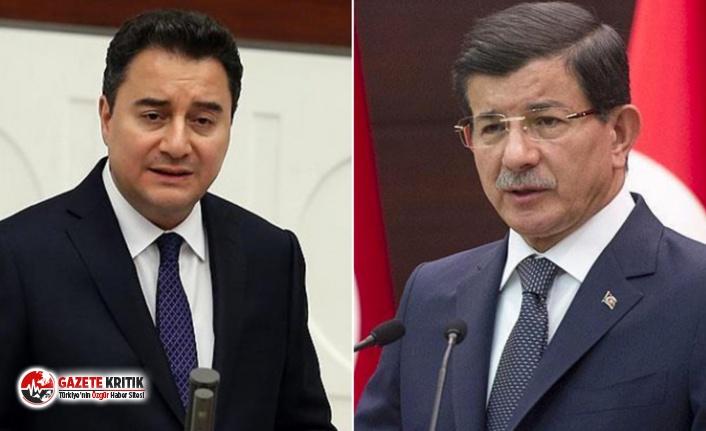 """""""Ahmet Davutoğlu'ndan Ali Babacan'a yeni parti teklifi"""" iddiası"""