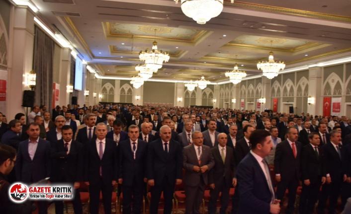 Başkan Arslan, Türkiye Belediyeler Birliği toplantısına...