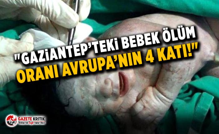 """CHP'li Bayram Yılmazkaya: """"Gaziantep'teki Bebek Ölüm Oranı Avrupa'nın 4 Katı!"""""""