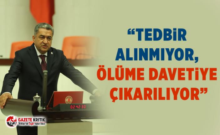 """CHP'li Bedri Serter : """"Trabzon Araklı'da yaşanan felaket kader     değil"""""""