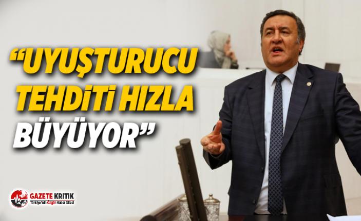 """CHP'li Gürer: """"Uyuşturucu tehditi hızla büyüyor"""""""