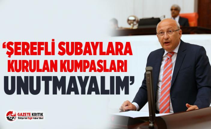 CHP'Lİ ÇAKIRÖZER, ASKERLİK YASASI GÖRÜŞMELERİNDE...
