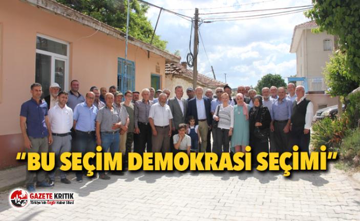 CHP'li Çakırözer'den Sarayörenlilere ziyaret