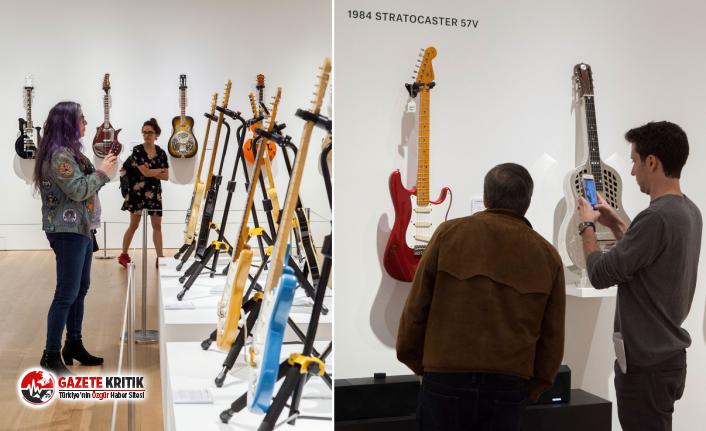 David Gilmour'un 50 yıldır kullandığı gitar yaklaşık 4 milyon dolara satıldı