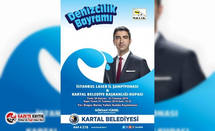 DENİZCİLİK VE KABOTAJ BAYRAMI, KARTAL'DA YELKEN...