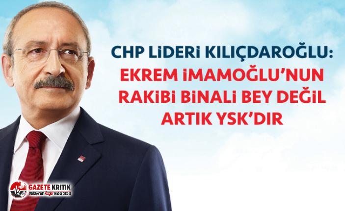 ''Ekrem İmamoğlu'nun rakibi Binali...