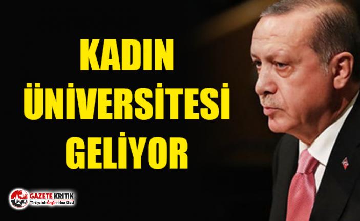 Erdoğan Japonya'da açıkladı ! Kadın üniversitesi...