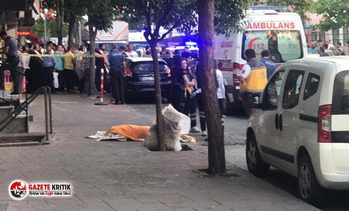 Esenler'de eşi ve iki çocuğunu ağır yaralayan...