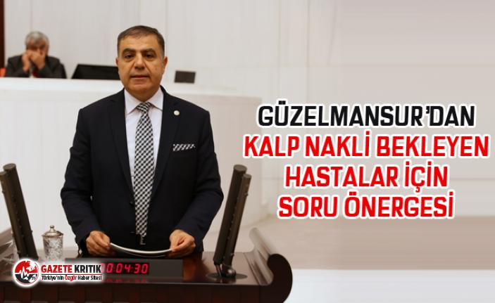 GÜZELMANSUR'DAN KALP NAKLİ BEKLEYEN HASTALAR İÇİN...