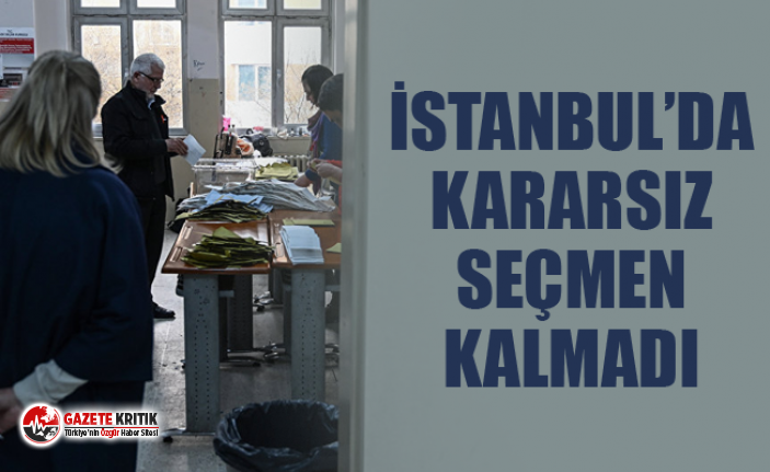 İbrahim Uslu: İstanbul'da kararsız seçmen...