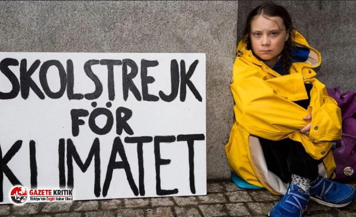 İklim hareketi öncüsü Greta Thunberg'e Af...