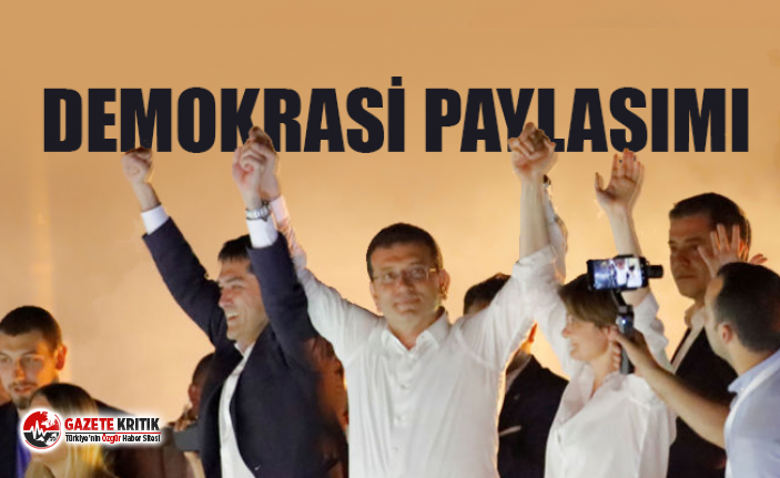 İmamoğlu'ndan 'Demokrasi Gecesi'...