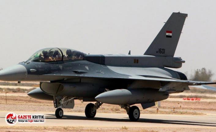 Irak'ta ABD askerlerinin de bulunduğu hava üssüne...