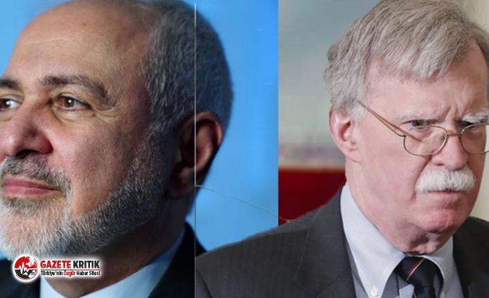 İran Dışişleri Bakanı Zarif'ten 'uyarı': Bolton savaş komplosu kuruyor