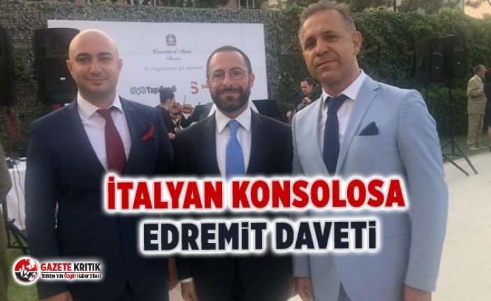 İtalyan Konsolosa Edremit daveti