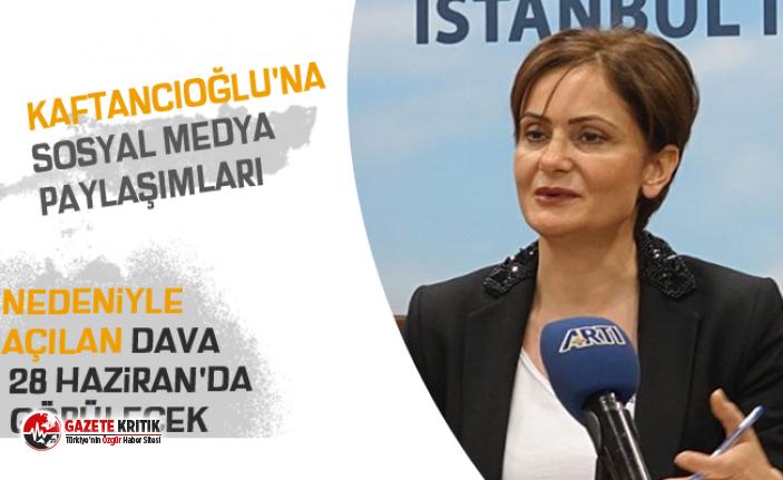 Kaftancıoğlu'na sosyal medya paylaşımları...