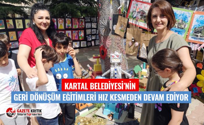 KARTAL BELEDİYESİ'NİN GERİ DÖNÜŞÜM EĞİTİMLERİ...