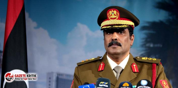 Libya Ordu Sözcüsü:Türk hedefleri düşman hedeflerdir,...