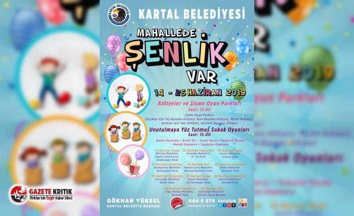 """""""MAHALLEDE ŞENLİK VAR"""" PANAYIRI İLE KARTAL'DA..."""