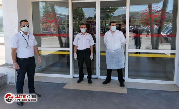 Nevşehir Adliyesi'nde 'şüpheli toz' paniği