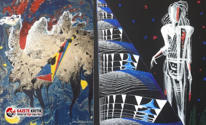 Özbek ressamlardan Kıbrıs'a özel sergi