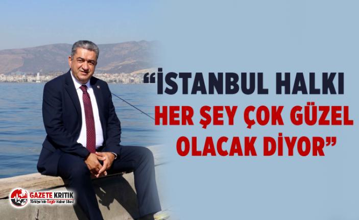 Serter'den son düzlükte umut dolu İstanbul mesajları