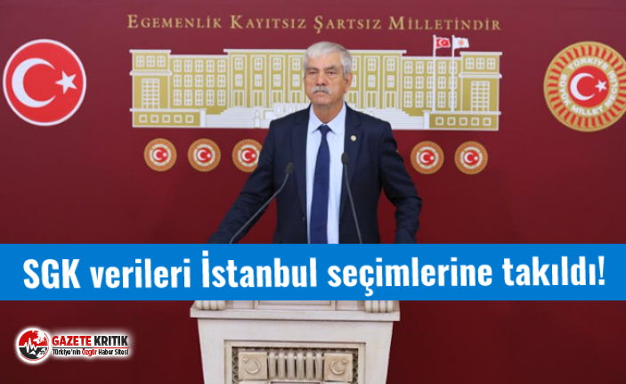 SGK verileri İstanbul seçimlerine takıldı!