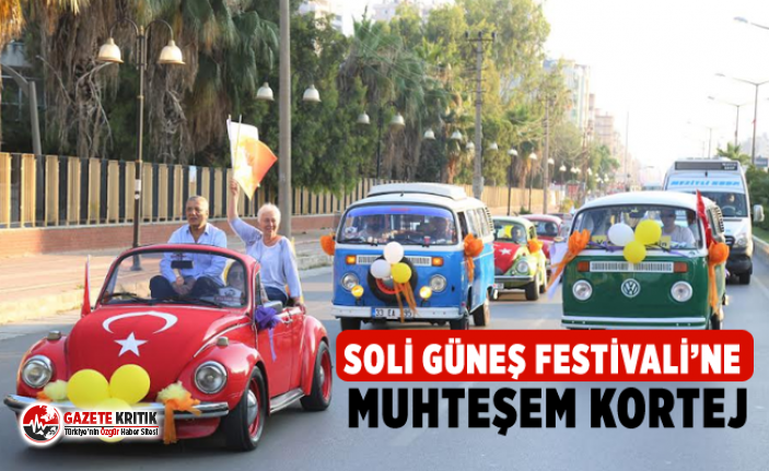 Soli Güneş Festivali'ne Muhteşem Kortej