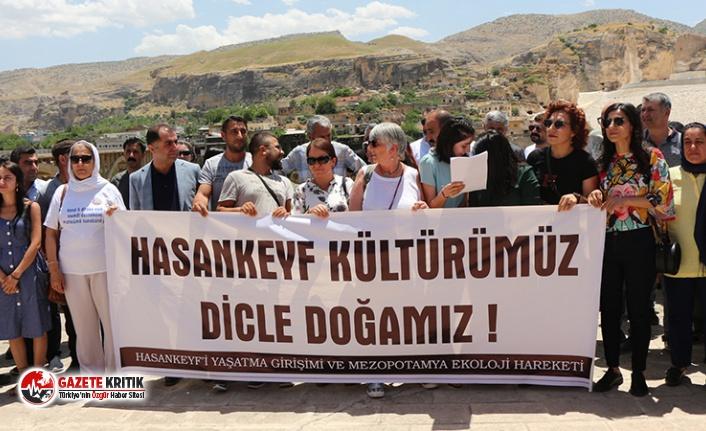 """STK'lar Hasankeyf için bir araya geldi: """"Geç değil!"""""""