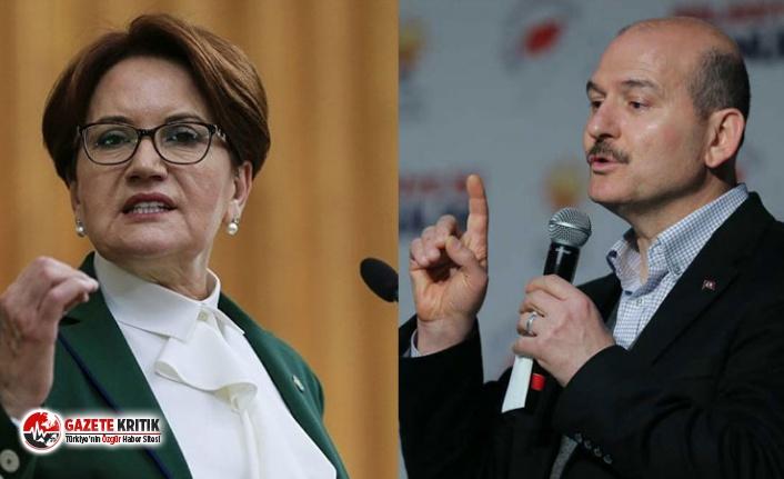 Süleyman Soylu'dan Akşener'e 'VIP'...