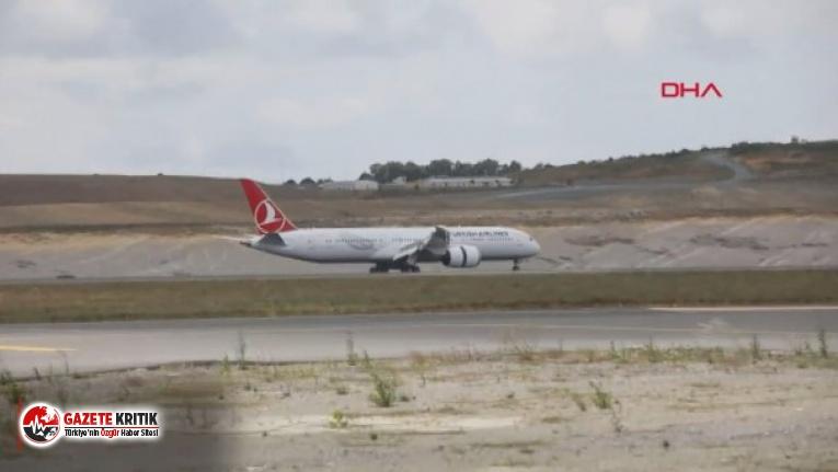 THY'nin ilk rüya uçağı ''Boeing 787-9 Dreamliner'' İstanbul'a iniş yaptı