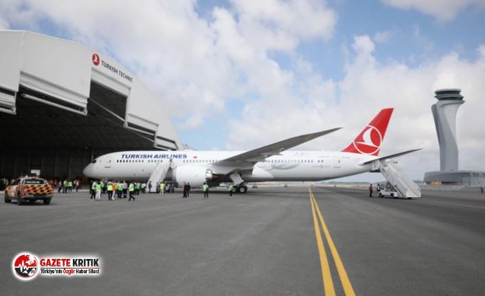 THY'nin 'rüya uçağı'na Eren Bülbül'ün anısına 'Maçka' adı verildi