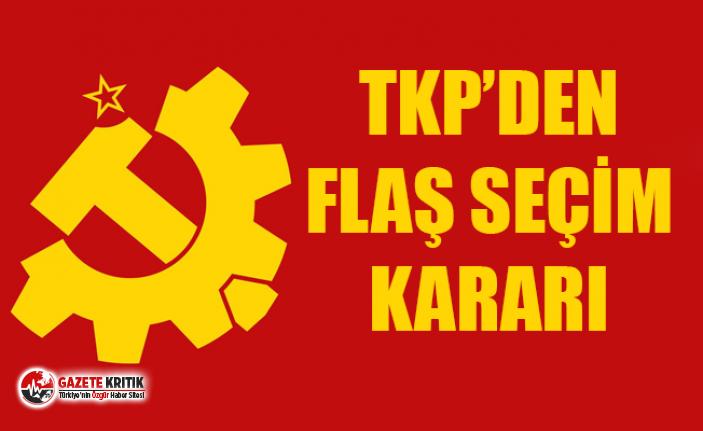 TKP: 23 Haziran'da sandığa gitmiyoruz, bu bir boykot çağrısı değil