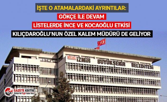 İzmir Büyükşehir şirketlerinde yeni görev dağılımı...İşte dikkat çeken isimler ve ayrıntıları