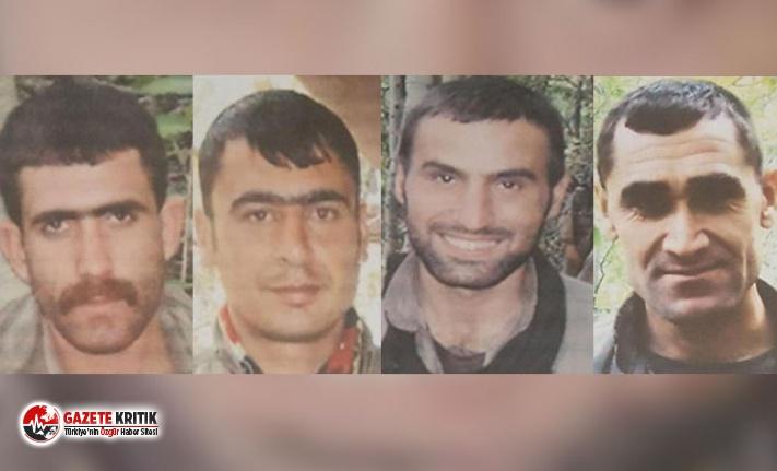 Tunceli'de etkisiz hale getirilen teröristler,...