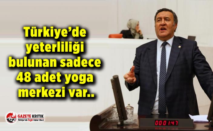 Türkiye'de yeterliliği bulunan sadece 48 adet yoga merkezi var..