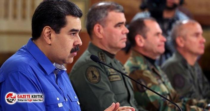 Venezüella Devlet Başkanı Nicolas Maduro:Darbe girişimi olursa hükümet radikalleşir