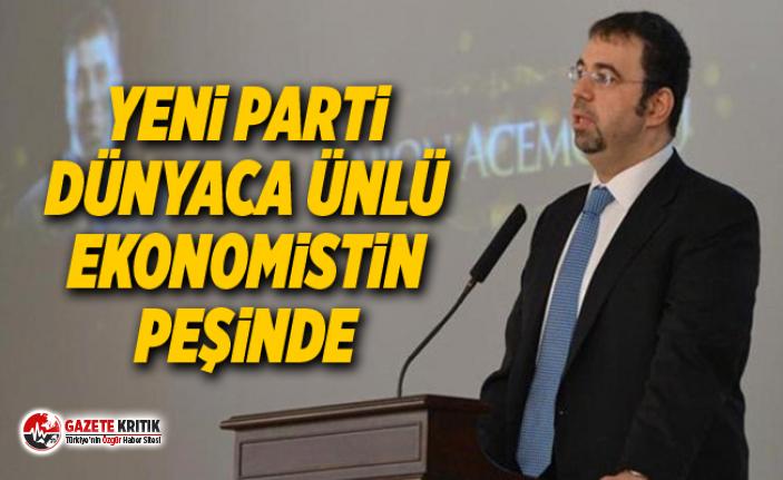 Yeni parti dünyaca ünlü ekonomistin peşinde