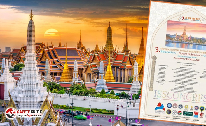 YÖK, Tayland'daki tartışmalı kongre için...