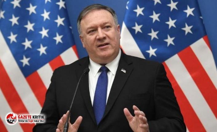 ABD Dışişleri Bakanı Pompeo'dan Türkiye'ye...