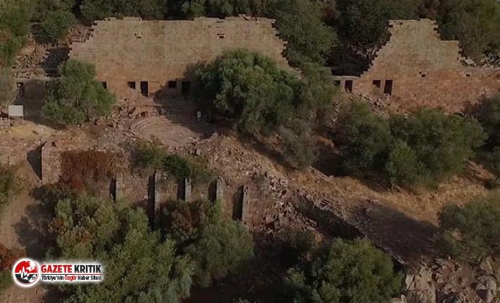 Aigai Antik Kenti'nde bulunan 3 bin mezar tarihe...